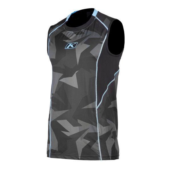 Lenjerie Protectie Klim Vesta Aggressor Cool Black/Blue