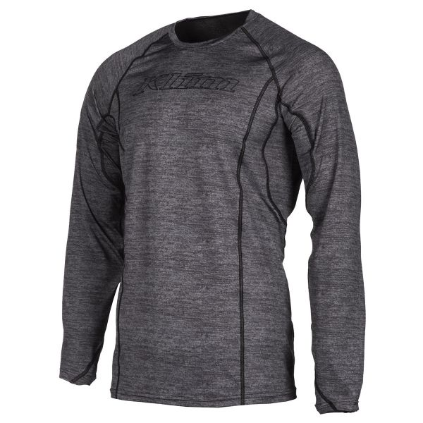 Underlayer Snow Klim Bluza Base Layer Aggressor 1.0 Black Heather 2021