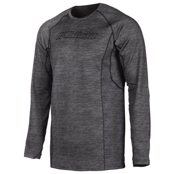 Underlayer Snow Klim Bluza Base Layer Aggressor 2.0 Black Heather 2021