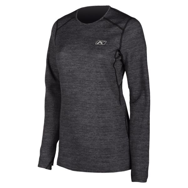 Underlayer Snow Klim Bluza Dama Base Layer Solstice 1.0 Black Heather 2021
