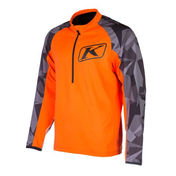Underlayer Snow Klim Bluza Revolt Pullover Orange
