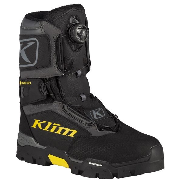 Klim Bocanci Snow Klutch GTX BOA Black 2020