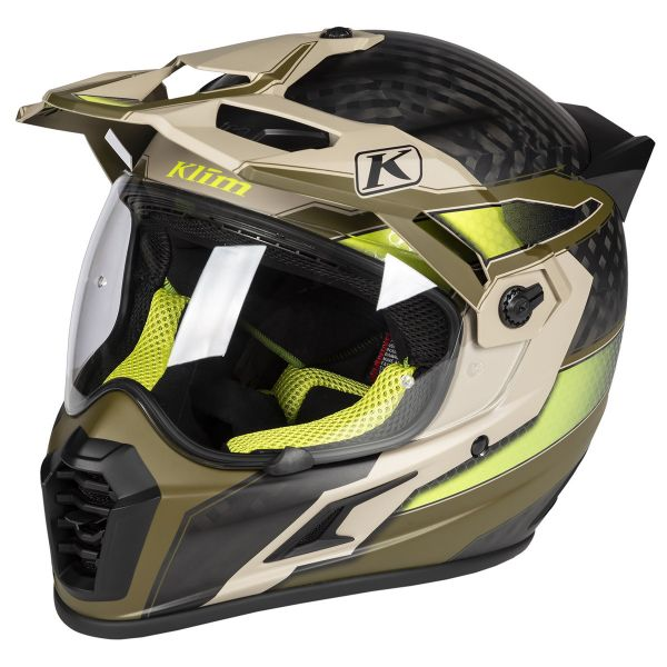 Klim Casca Krios Pro Helmet Ece Arsenal Dune 2019+H4G8:H70