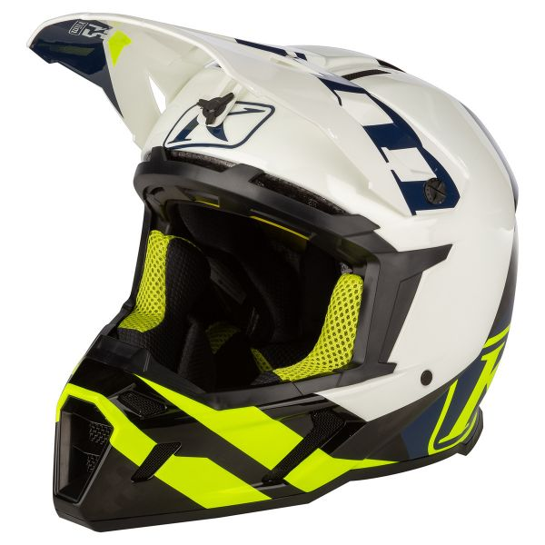 Casti MX-Enduro Klim Casca Moto MX F5 Koroyd ECE/DOT Ascent Vivid Blue 2021