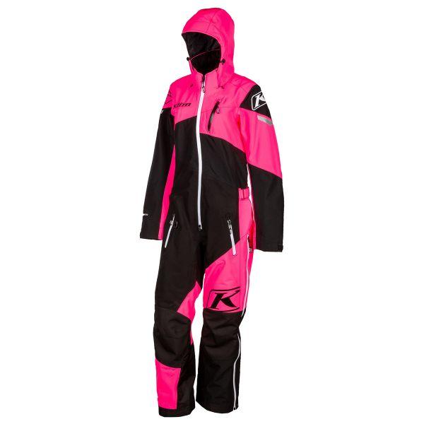 Combinezon Monosuit SNOW Klim Combinezon Non-Insulated Dama Ripsa One-Piece Short Knockout Pink 2021