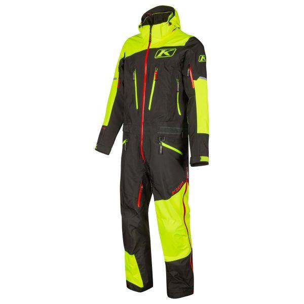 Combinezon Monosuit SNOW Klim Combinezon Non-Insulated Lochsa One-Piece Hi-Vis Black 2021