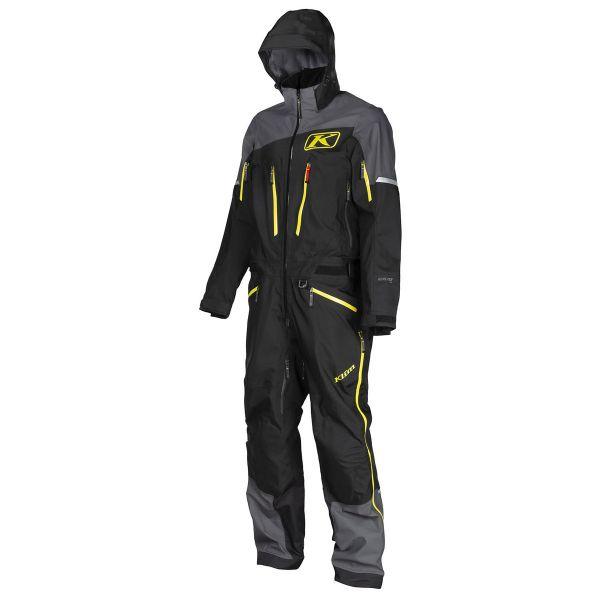 Combinezon Monosuit SNOW Klim Combinezon Non-Insulated Lochsa One-Piece Short Black 2021
