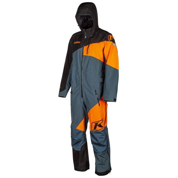 Combinezon Monosuit SNOW Klim Combinezon Non-Insulated Ripsa One-Piece Strike Orange 2021