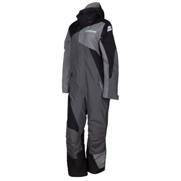 Combinezon Monosuit SNOW Dama Klim Combinezon Snow Insulated Dama Vailslide One-Piece Black-Wintermint 2022