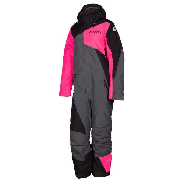 Combinezon Monosuit SNOW Dama Klim Combinezon Snow Insulated Dama Vailslide One-Piece Knockout Pink-Black 2022