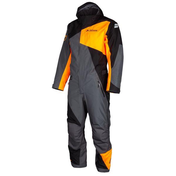 Combinezon Monosuit SNOW Klim Combinezon Snow Insulated Railslide One-Piece Short Black-Strike Orange 2022