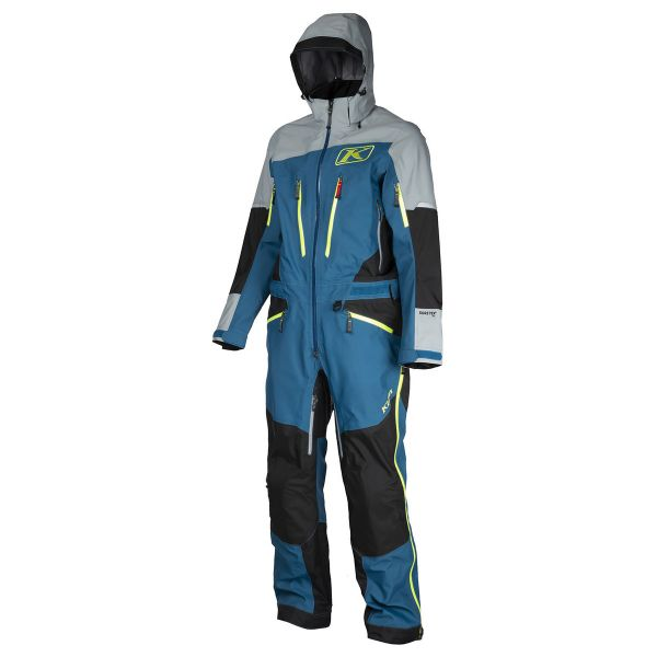 Combinezon Monosuit SNOW Klim Combinezon Snow Lochsa 1 PC Moroccan Blue 2020