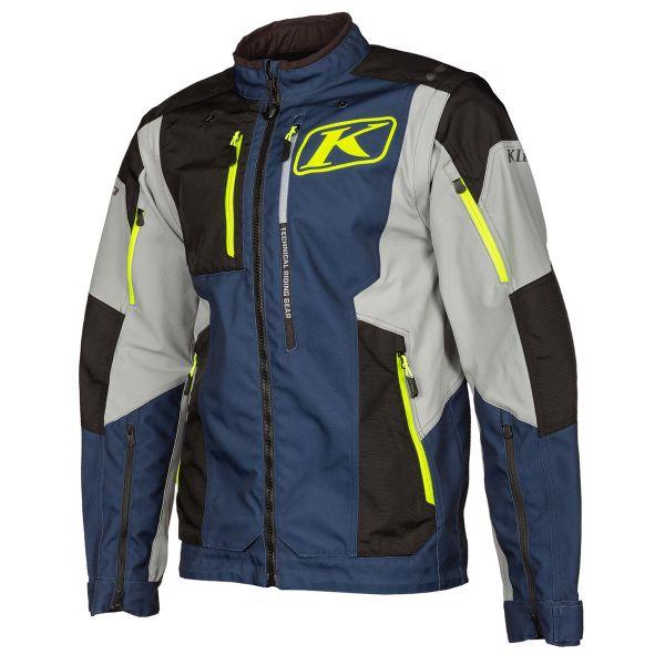 Geci Enduro Klim Geaca Moto MX Dakar Vivid Blue 2021