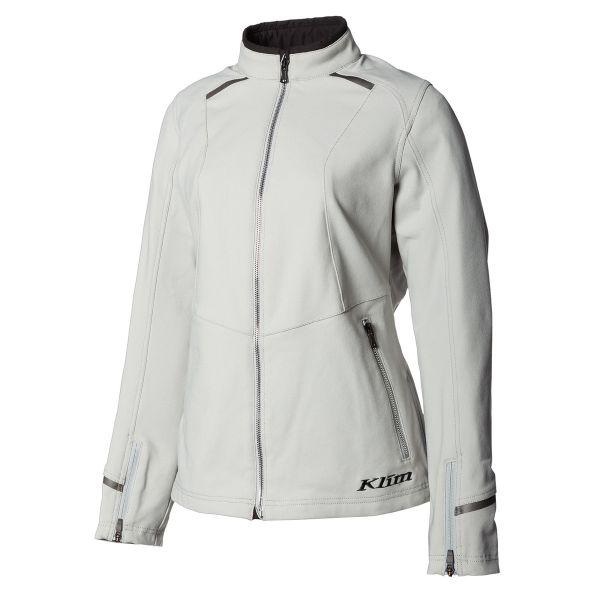 Geci Moto Piele - Dama Klim Geaca Moto Textil Dama Marrakesh Jacket Cool Gray 2021