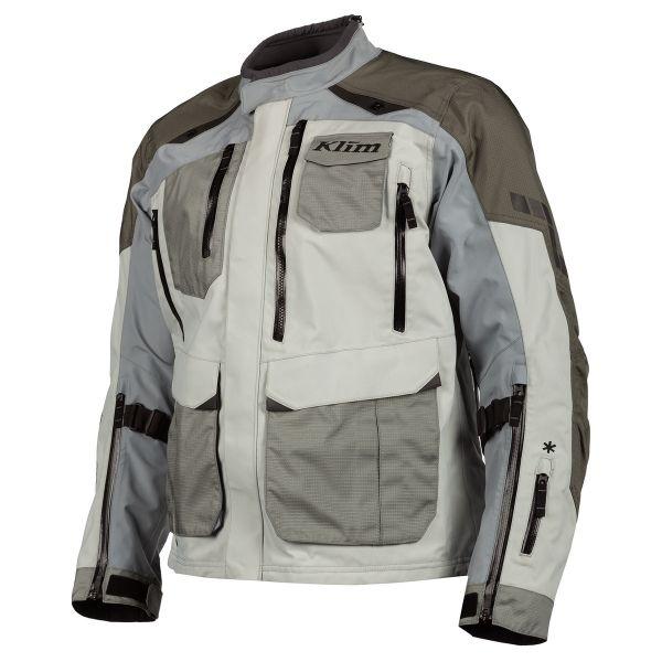 Geci Moto Textil Klim Geaca Moto Textil Touring Carlsbad Jacket Cool Gray 2021