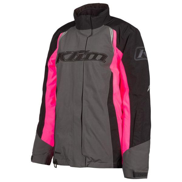 Geci Snowmobil - Dama Klim Geaca Snow Insulated Dama Strata Asphalt Knockout Pink 2021