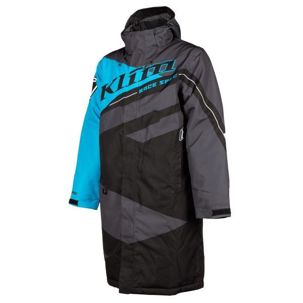 Geci Snowmobil Klim Geaca Snow Insulated Race Spec Pit Coat Vivid Blue 2021