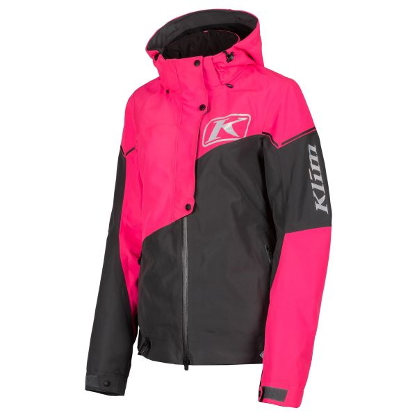 Geci Snowmobil - Dama Klim Geaca Snow Non-Insulated Dama Alpine Knockout Pink Asphalt 2021