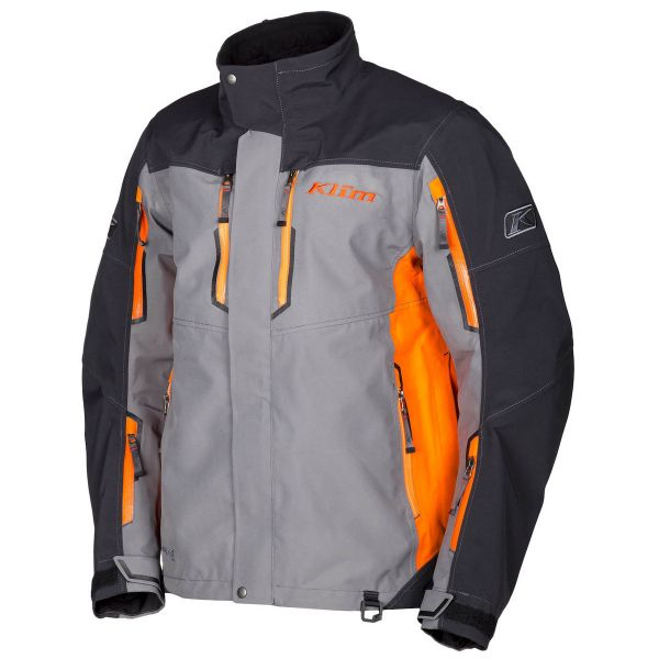 Geci Snowmobil Klim Geaca Snow Valdez Parka Orange 2020