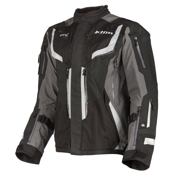 Geci Moto Textil Klim Geaca Moto Textil Touring Badlands Pro Gray 2021