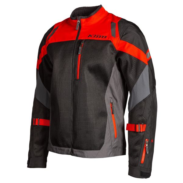 Geci Moto Textil Klim Geaca Moto Textil Touring Induction Black/Redrock 2021