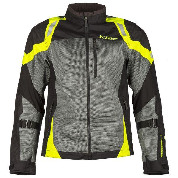 Geci Moto Textil Klim Geaca Moto Textil Touring Induction Hi/Vis 2021