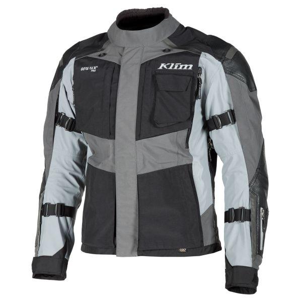 Geci Moto Textil Klim Geaca Moto Textil Touring Kodiak Gray Certified CE 2021