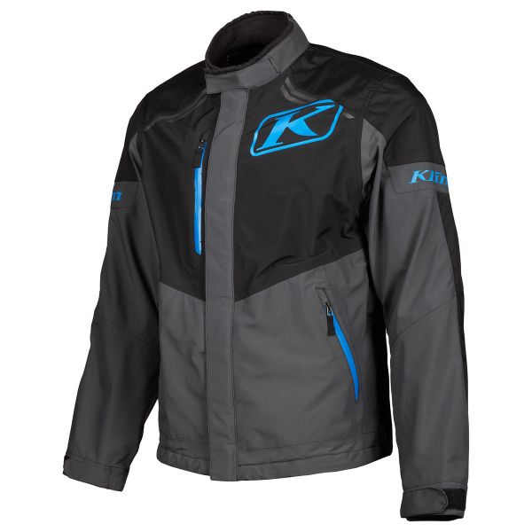 Geci Enduro Klim Geaca Traverse Jacket  Black - Kinetik Blue 2020