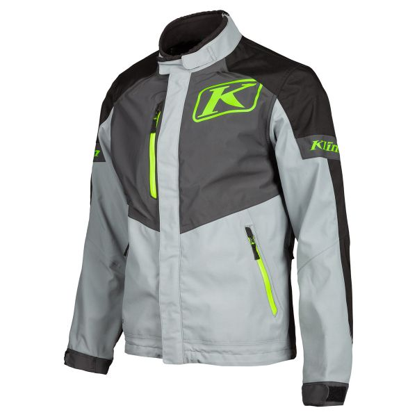 Jackets Enduro Klim Jacket Traverse Jacket  Gray - Electrik Gecko 2020