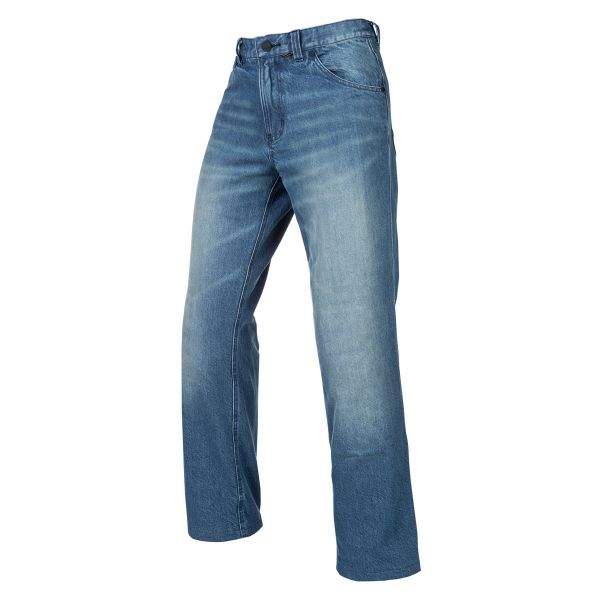 Jeans Moto Klim Jeans K Fifty Riding Denim Light Blue 2020