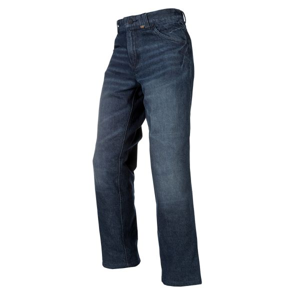 Jeans Moto Klim Jeans K Fifty Riding Tall Denim Dark Blue 2020