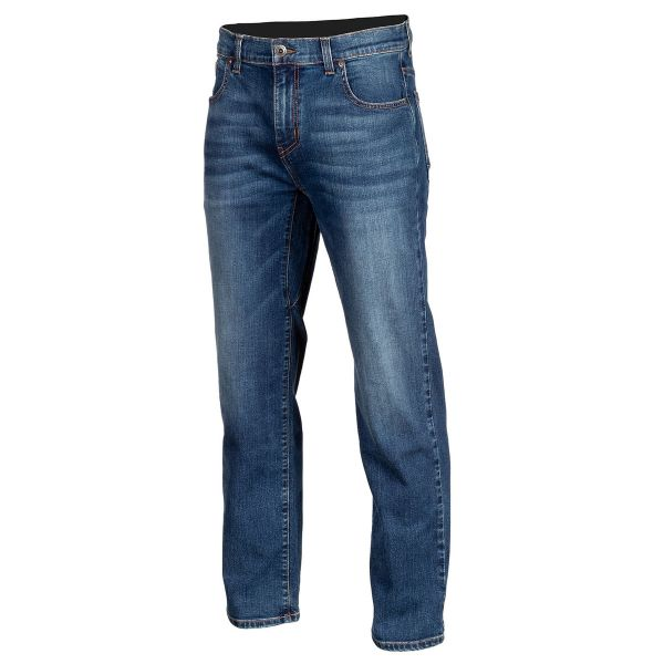 Jeans Moto Klim Jeans Moto Unlimited Straight Stretch Denim Cobalt 2021