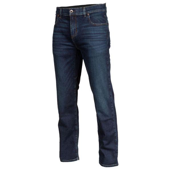 Jeans Moto Klim Jeans Moto Unlimited Straight Stretch Denim Indigo 2021