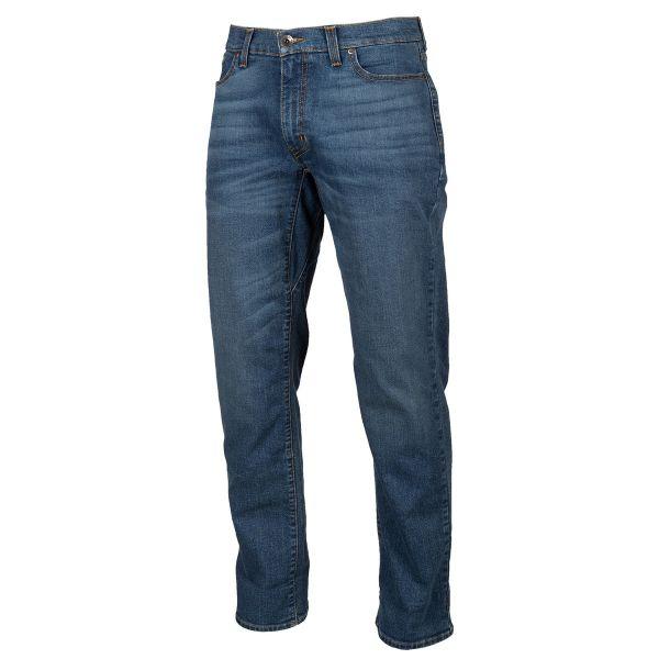 Jeans Moto Klim K Forty 2 Straight Stretch Denim Cobalt 2021