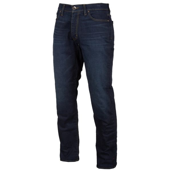 Jeans Moto Klim K Forty 2 Straight Stretch Denim Indigo 2021