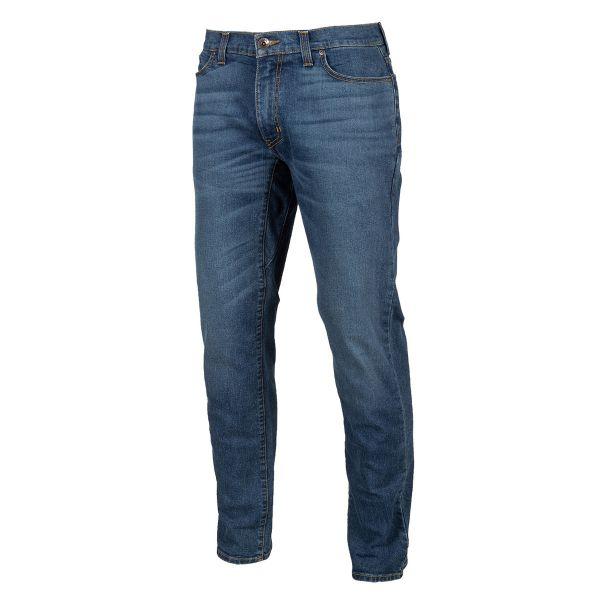 Jeans Moto Klim K Forty 3 Tapered Stretch Denim Cobalt 2021