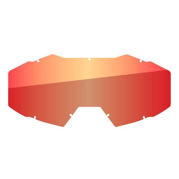 Accesorii Ochelari Klim Lentila Schimb Ochelari Moto Off Road Viper Lt Smoke Red Mirror 2021