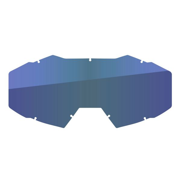 Accesorii Ochelari Klim Lentila Schimb Ochelari Moto Viper Off Road Smoke Blue Oglinda 2021