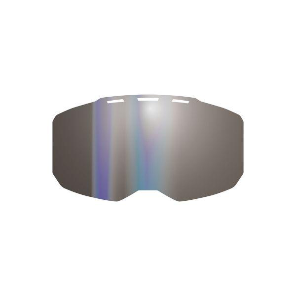 Accesorii Ochelari Snow Klim Lentila Schimb Ochelari Snow Edge Lens Dark Smoke Silver Mirror 2021