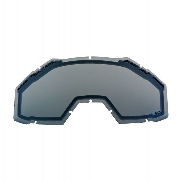 Accesorii Ochelari Snow Klim Lentila Schimb Ochelari Snow Viper / Viper Pro Dark Smoke Silver Mirror 2021