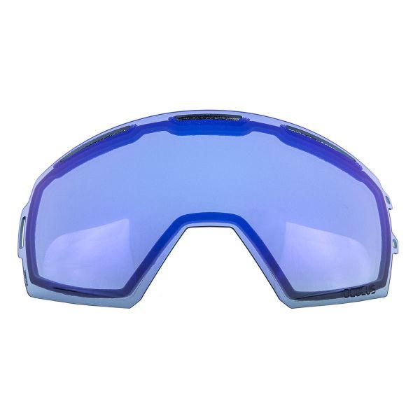 Accesorii Ochelari Snow Klim Lentila Schimb Oculus Smoke Blue Mirror 2020