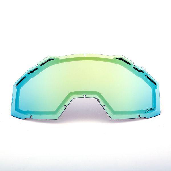 Accesorii Ochelari Snow Klim Lentila Schimb Viper Pro/Viper Smoke Gold Mirror 2020
