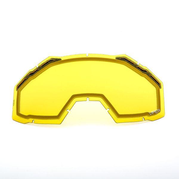 Accesorii Ochelari Snow Klim Lentila Schimb Viper Pro/Viper Yellow Tint 2020