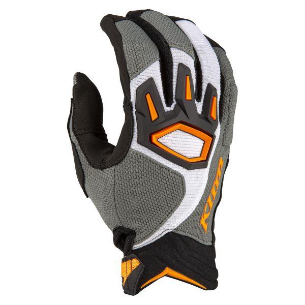 Manusi MX-Enduro Klim Manusi Moto MX Dakar Glove Striking Gray 2021