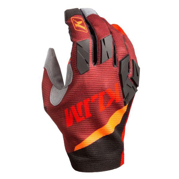 Manusi MX-Enduro Klim Manusi Moto MX Women's XC Lite Glove Hot Sauce 2021