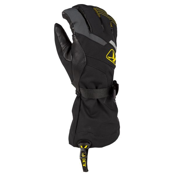 Manusi Snowmobil Klim Manusi Snow Powerxross Gauntlet Black 2020