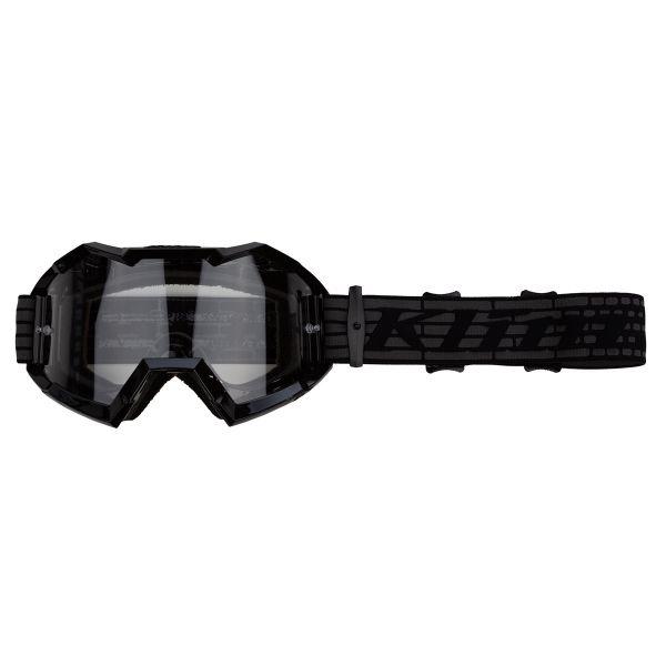 Ochelari MX-Enduro Klim Ochelari Moto MX Viper Razor Black Clear 2021