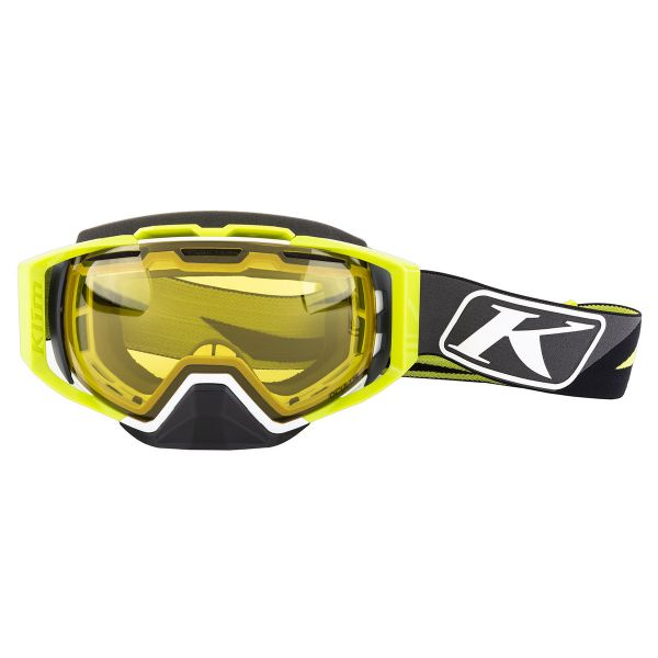 Ochelari MX-Enduro Klim Ochelari Oculus Goggle Dissent Green Photochromic Yellow to Smoke 2020
