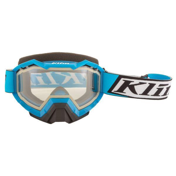 Ochelari Snowmobil Klim Ochelari Snow Viper Deviate Vivid Blue Clear 2021