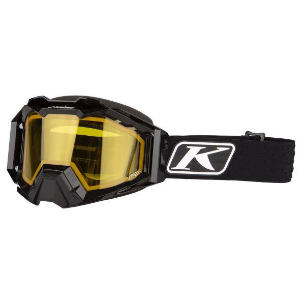 Ochelari Snowmobil Klim Ochelari Snow Viper Pro Elite Black Yellow Tint 2021